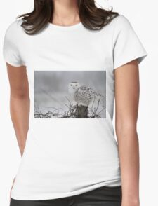 As the night fades into day Womens Fitted T-Shirt