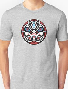 Bear Shamanic Animal Emblem Unisex T-Shirt