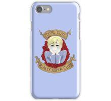 """Tamaki Suoh """"You're Cute"""" - OHSHC FanArt iPhone Case/Skin"""