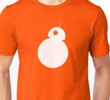 BB-8 - White Silhouette  Unisex T-Shirt