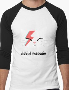 Meowie Men's Baseball ¾ T-Shirt