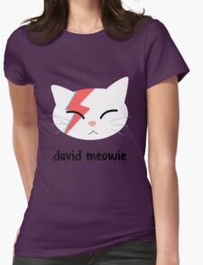 Meowie Womens Fitted T-Shirt