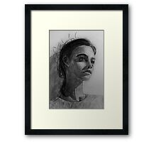 In This Silence I Believe Framed Print