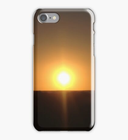 Sunset Seclusion iPhone Case/Skin