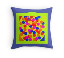Psychedelic Egg Throw Pillow