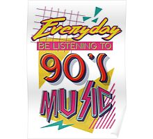 90's Music Poster