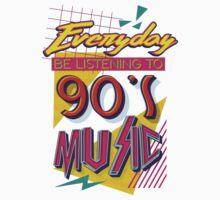 90's Music by woahjonny