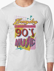 90's Music Long Sleeve T-Shirt