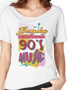 90's Music Women's Relaxed Fit T-Shirt