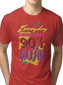 90's Music Tri-blend T-Shirt