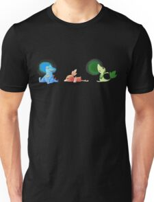 Starters from different generations  Unisex T-Shirt