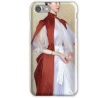 John Singer Sargent - Portrait of Mrs Robert Harrison, Tate Britain iPhone Case/Skin