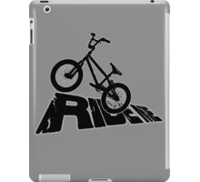 bmx ride me iPad Case/Skin