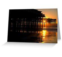 The Crystal Pier San Diego Greeting Card