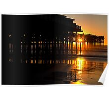 The Crystal Pier San Diego Poster