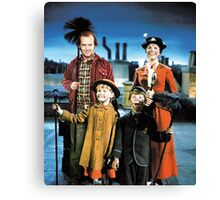 Jack Torrance in Mary Poppins Canvas Print