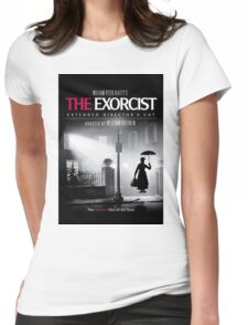 Mary Poppins in The Exorcist Womens Fitted T-Shirt