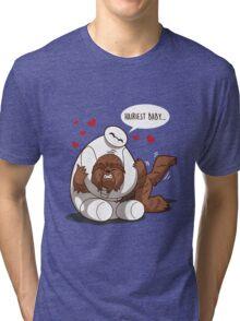 Hairiest Baby Tri-blend T-Shirt