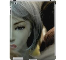 face iPad Case/Skin