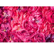 Abstract Red Rose painting Photographic Print