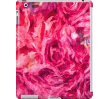 Abstract Red Rose painting iPad Case/Skin
