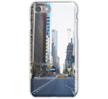 Yellow Taxi, Manhattan, NYC iPhone Case/Skin