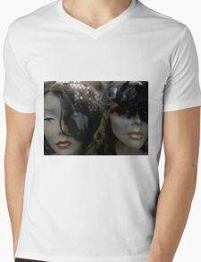 depressed Mens V-Neck T-Shirt