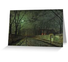 John-Atkinson-Grimshaw-fine-art- Greeting Card