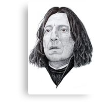 Biro Professor Snape  Canvas Print