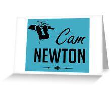 Cam Newton Greeting Card