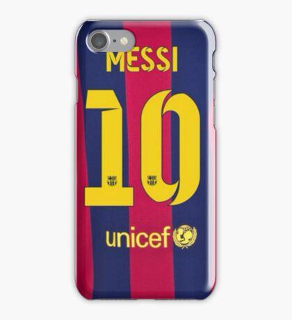 Lionel Messi Jersey Phone Case iPhone Case/Skin