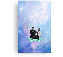 The X Files Space Dorks Canvas Print