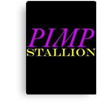 Pimp Stallion Canvas Print