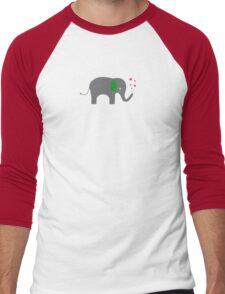 Elephant of love Men's Baseball ¾ T-Shirt