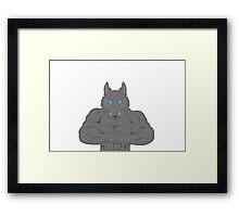Beast Werewolf V2 Framed Print