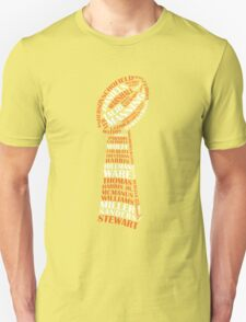 Denver Broncos - Super bowl 50 - typography - dark T-Shirt