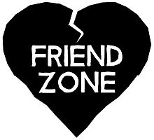 Friend Zone Valentines Day Heart by HolidayShirts