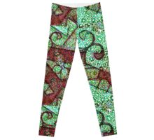 Geometric Modern Ornate Leggings