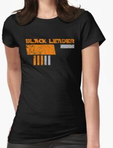 Black Leader Womens Fitted T-Shirt
