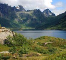 Lofoten in Norway Sticker
