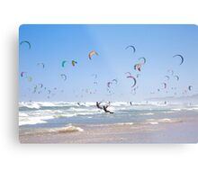 Kitesurfing Armada, Cape Town, South Africa Metal Print