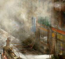 Fireman - New York NY - Big stink over ink 1915 Sticker