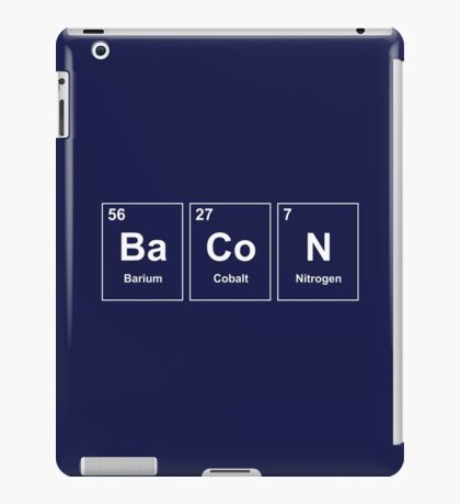 Bacon Element iPad Case/Skin