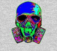 Toxic skull (blue) Pullover