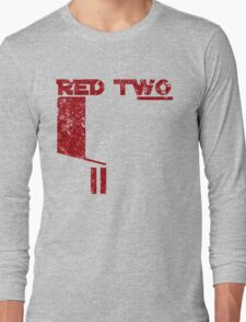 Red Two Long Sleeve T-Shirt
