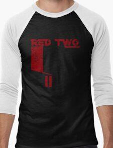 Red Two Men's Baseball ¾ T-Shirt