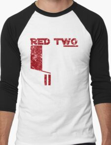 Red Two Men's Baseball ¾ T-Shirt
