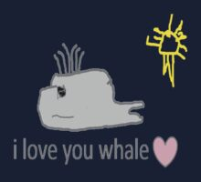 I love whales Kids Clothes