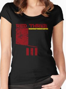 Red Three Women's Fitted Scoop T-Shirt