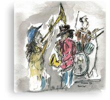 Music Den Canvas Print